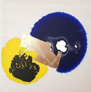 1. Marco Angelini - 2017 - tecnica mista su tela - cm 30x30