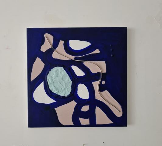 10 - 2018 - mixed technique on canvas - cm 30x30