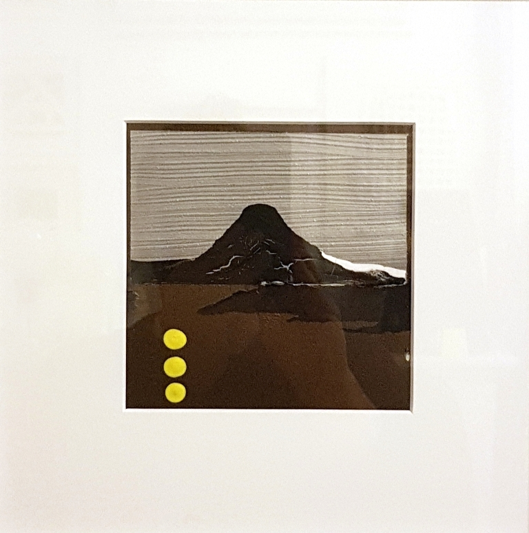 14 - 2018 - cm 28x28 - mixed media technique on paper