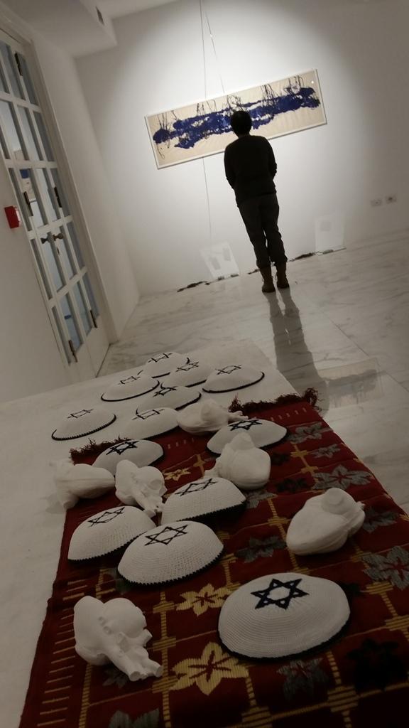 15 opening lo spazio del sacro - solo exhibition al MLAC