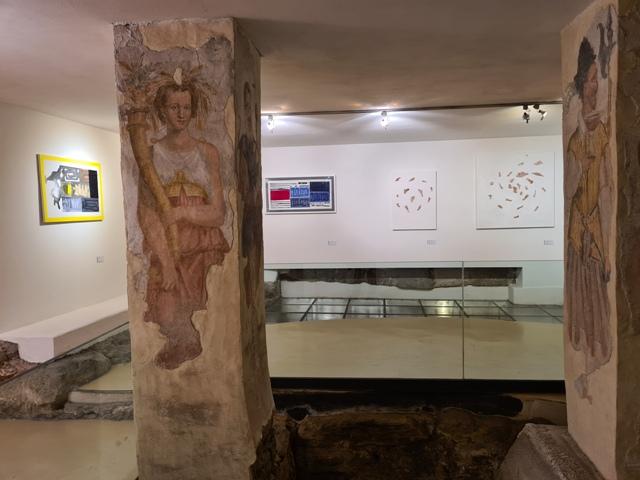 18. La tensione astratta dei segni, bi-personale Marco Angelini - Andrea Pinchi, a cura di Raffaella Salato