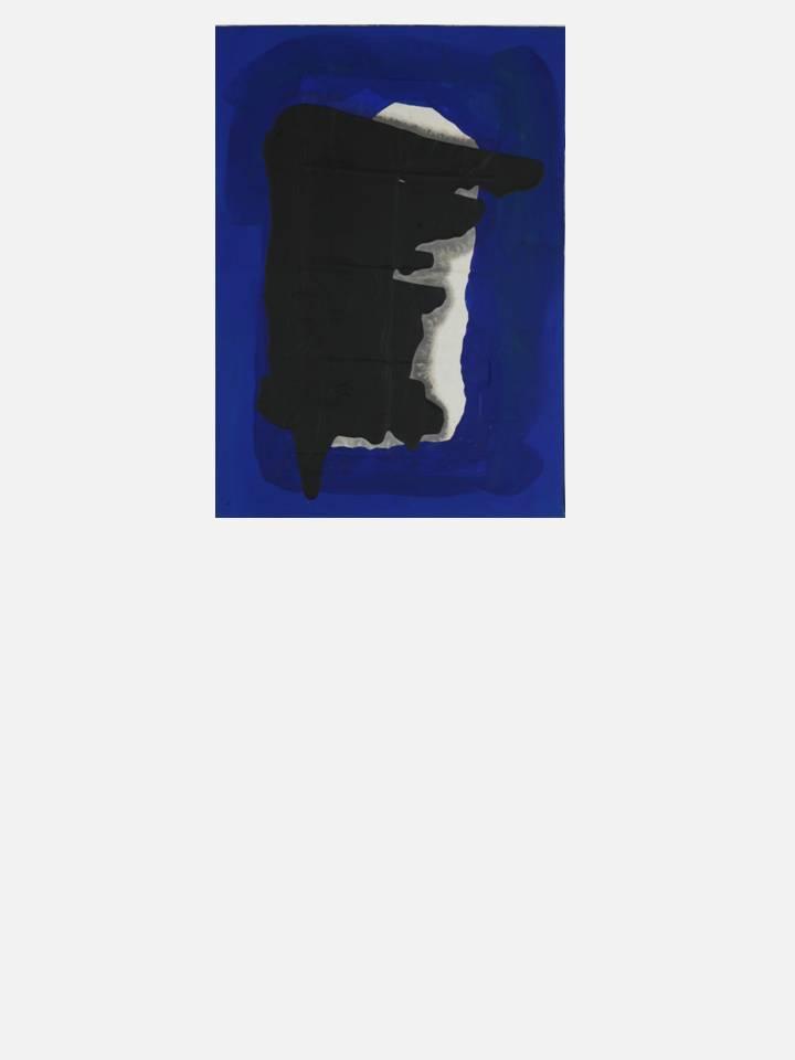 19. eclipse - 57X77 cm mixed technique on canvas