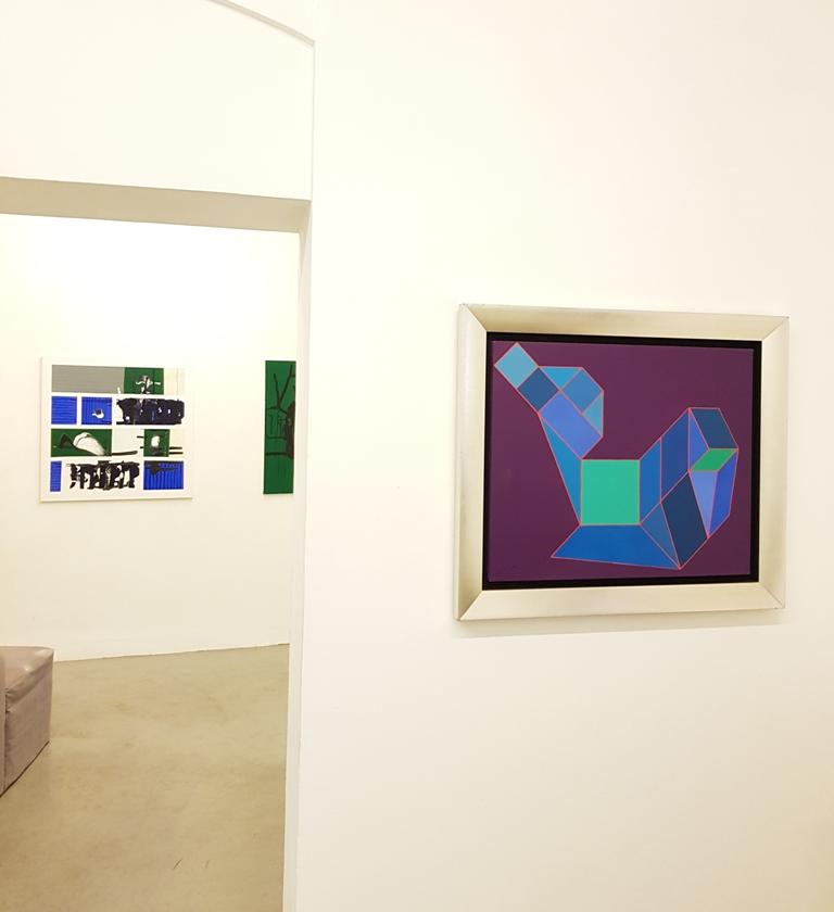 2 André Arte - Via Giulia 175 - Marco Angelini, Achille Perilli