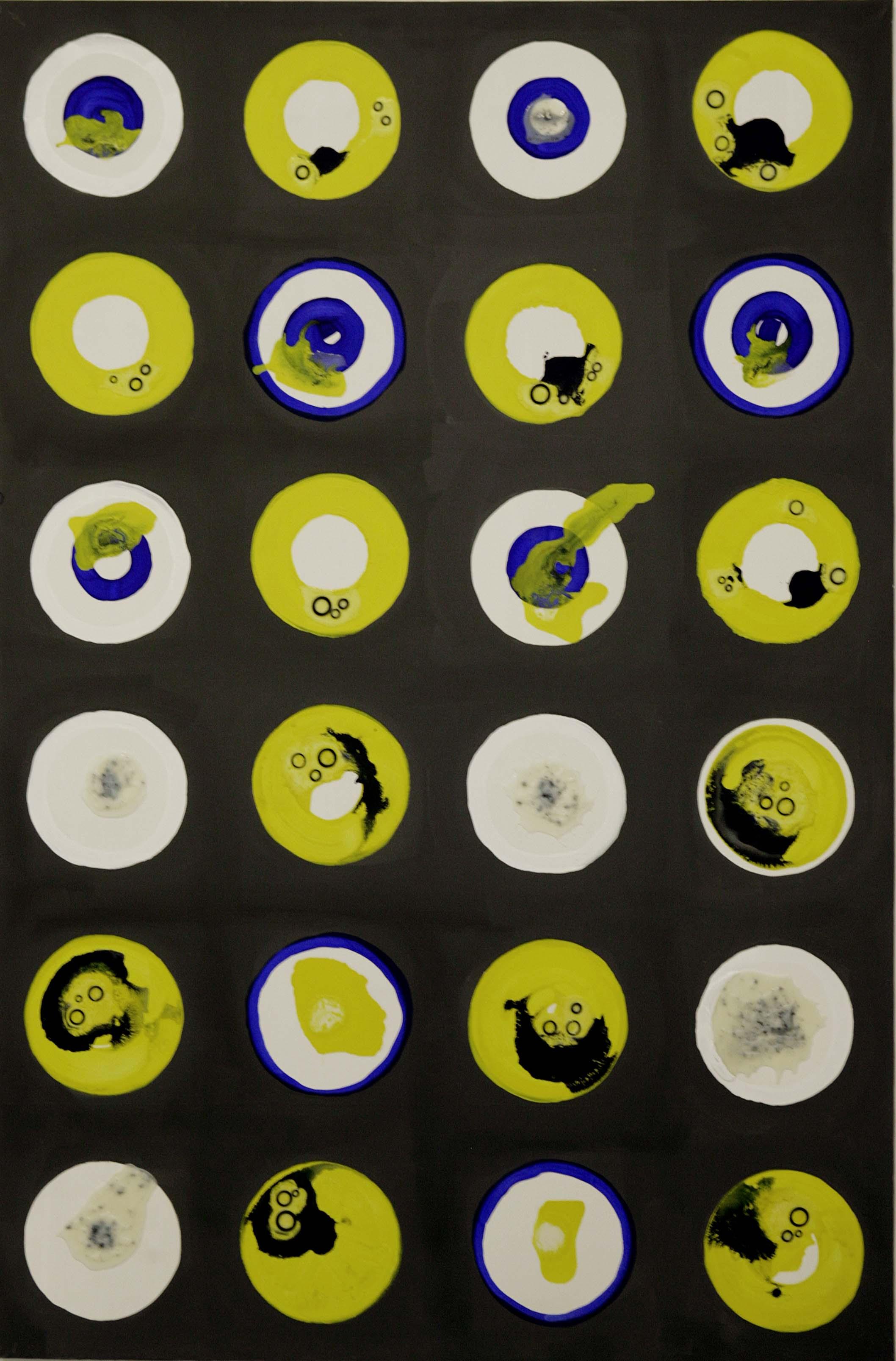 2. Untitled - cm 120 x 180 - mixed technique on canvas - photos by Dario Scialpi