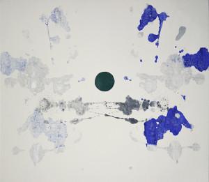 2017 - DIADE - cm 145 x130 - tecnica mista su tela