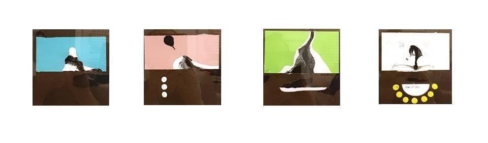 2018 - cm 28x28 - mixed media technique on paper (2)