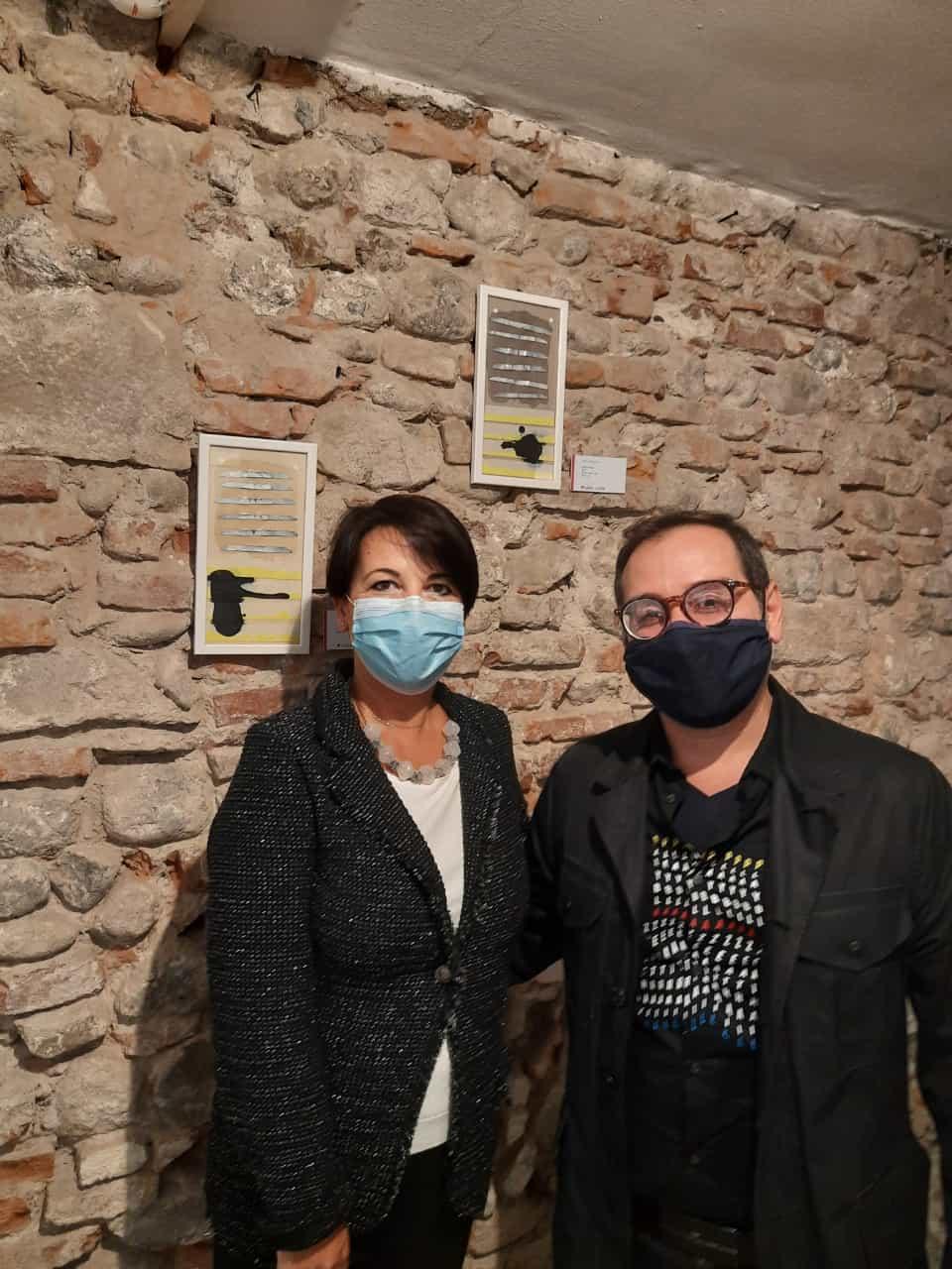 27. La tensione astratta dei segni, bi-personale Marco Angelini - Andrea Pinchi, a cura di Raffaella Salato