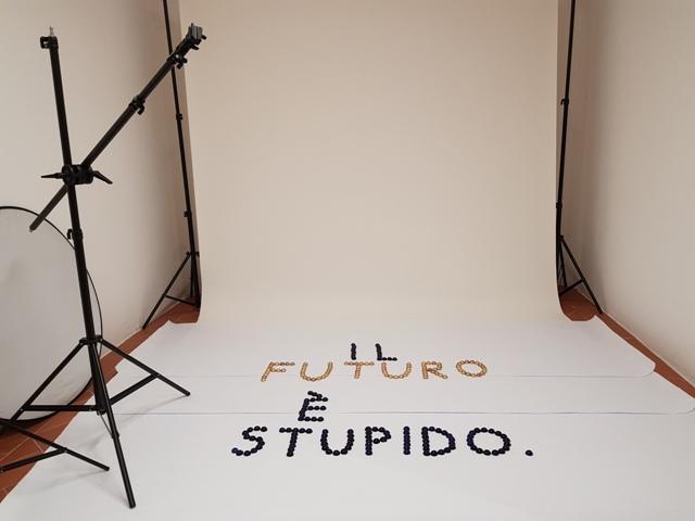 3 Il futuro è stupido - solo exhibition