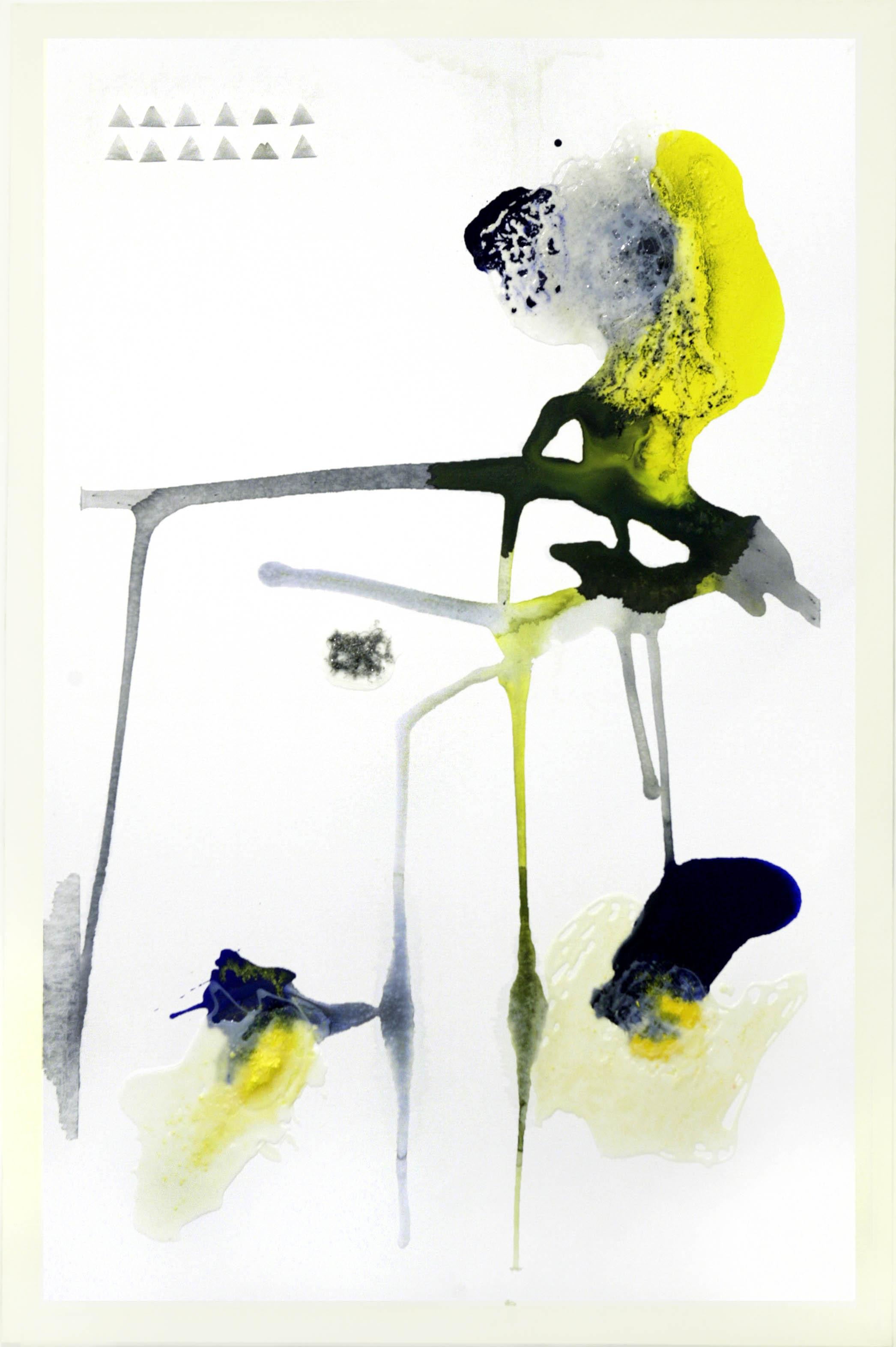 3. Untitled - cm 120 x 180 - mixed technique on canvas - photos by Dario Scialpi