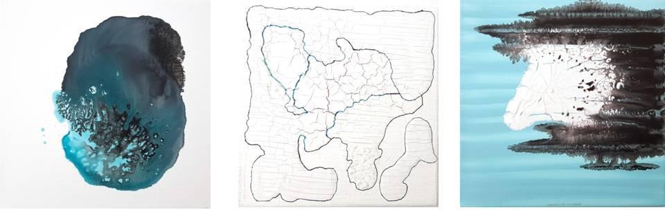 3. cm 20x20 each - mixed technique on canvas