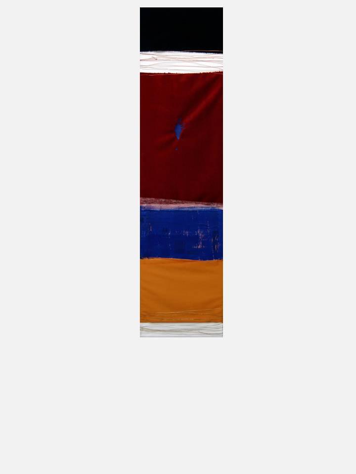 3. sperimentazioni 1 - cm 120 X 30  mixed media technique on canvas