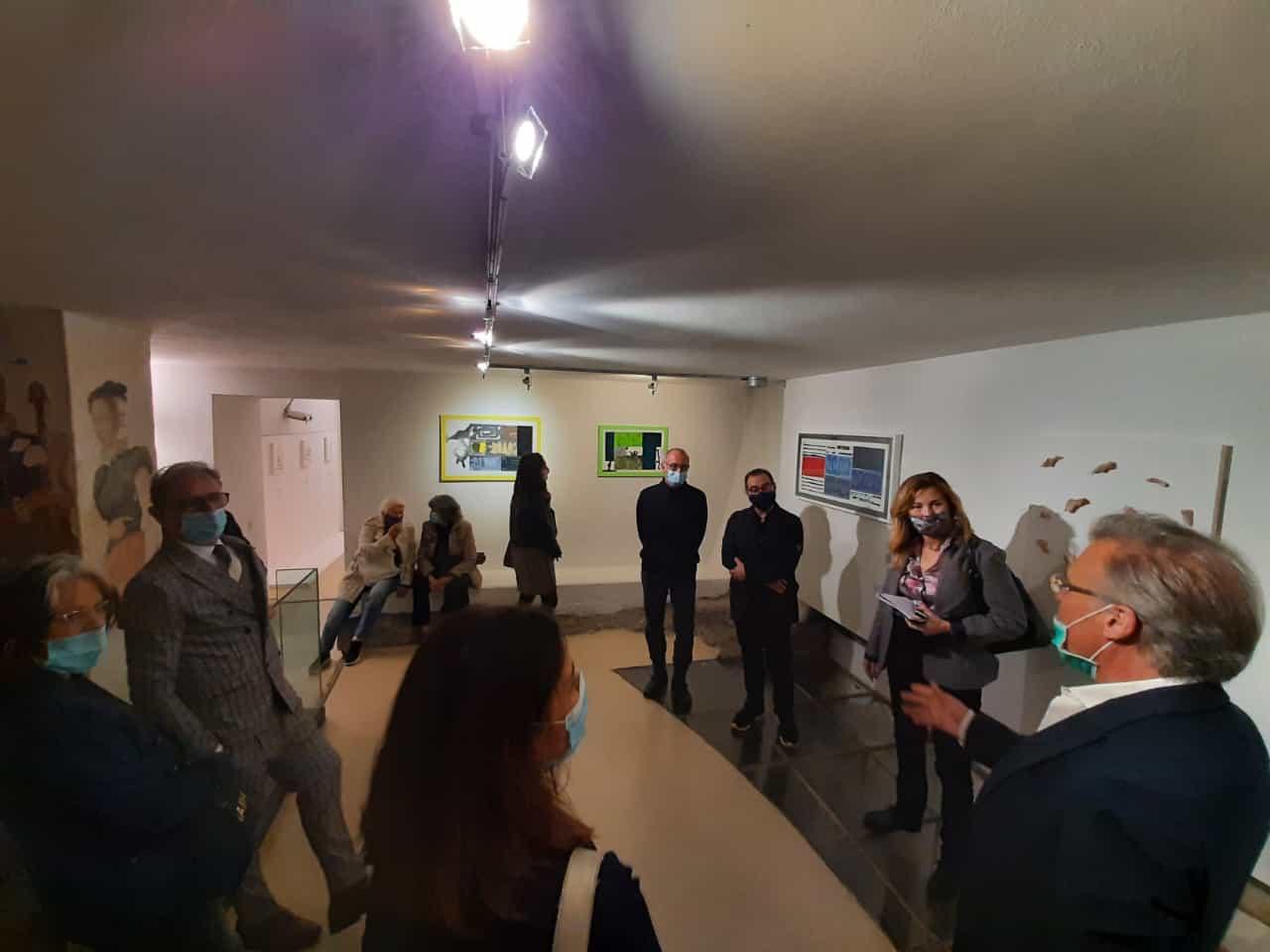30. La tensione astratta dei segni, bi-personale Marco Angelini - Andrea Pinchi, a cura di Raffaella Salato