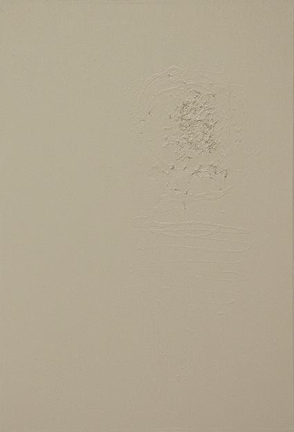 310. Untitled - cm 50x70 - mixed media technique on canvas - 2014 - photo by Carolina Farina