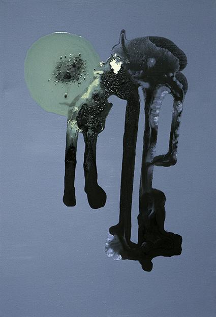 316. Untitled - cm 50x70 - mixed media technique on canvas - 2014 - photo by Carolina Farina