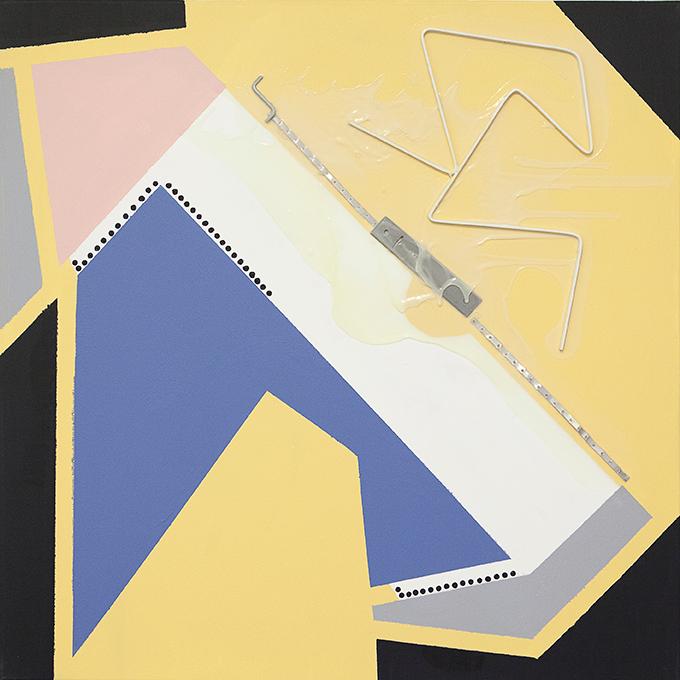 327 - 2015 - untitled - cm 90 x 90 - mixed media on canvas - photo Carolina Farina