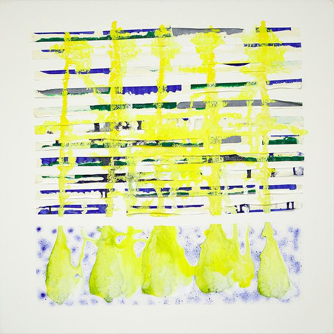 331 - 2015 - untitled - cm 90 x 90 - mixed media on canvas - photo Carolina Farina