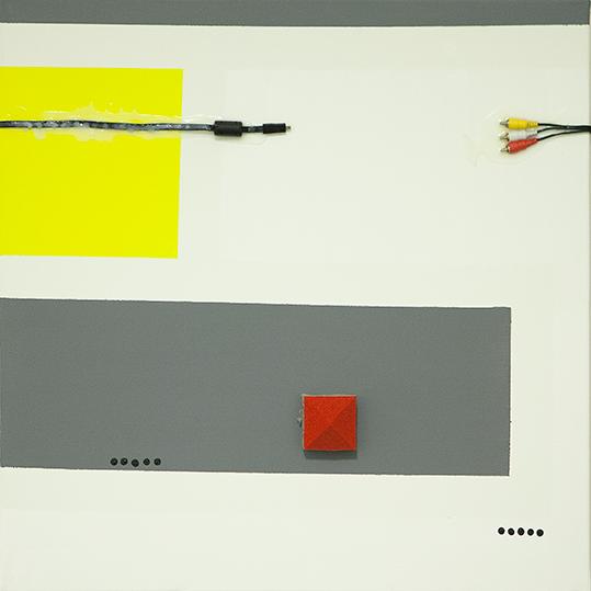 334a. untitled - cm 70 x 70 - mixed technique on canvas - 2015 - ph Carolina Farina
