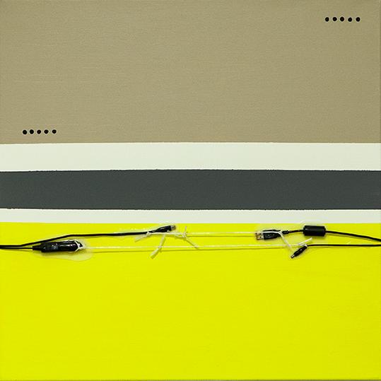 334d. untitled - cm 70 x 70 - mixed technique on canvas - 2015 - ph Carolina Farina