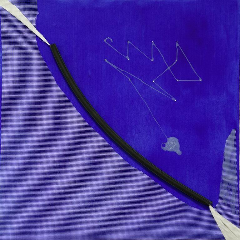 349. untitled - cm 100 x 100 - mixed technique on canvas - 2015 -  ph Carolina Farina