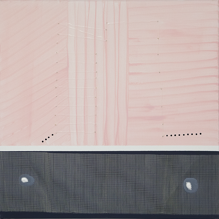 354. untitled - cm 100 x 100 - mixed technique on canvas - 2015 -  ph Carolina Farina