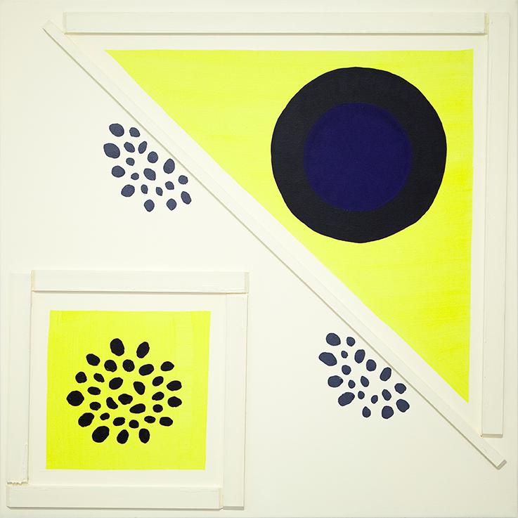 360. untitled - cm 100 x 100 - mixed technique on canvas - 2015 -  ph Carolina Farina
