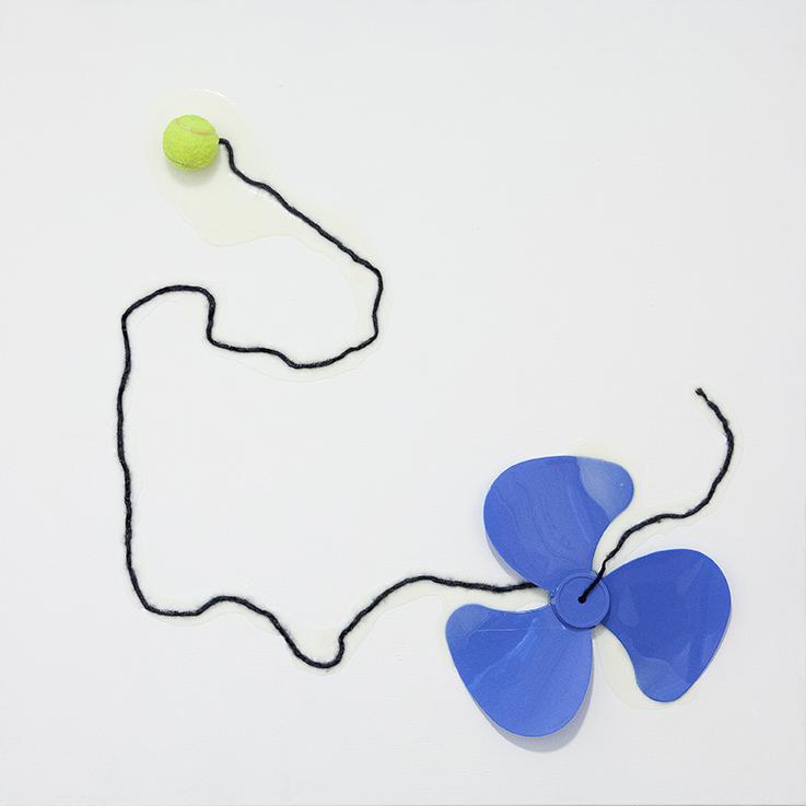 363a. untitled - cm 100 x 100 - mixed technique on canvas - 2015 -  ph Carolina Farina