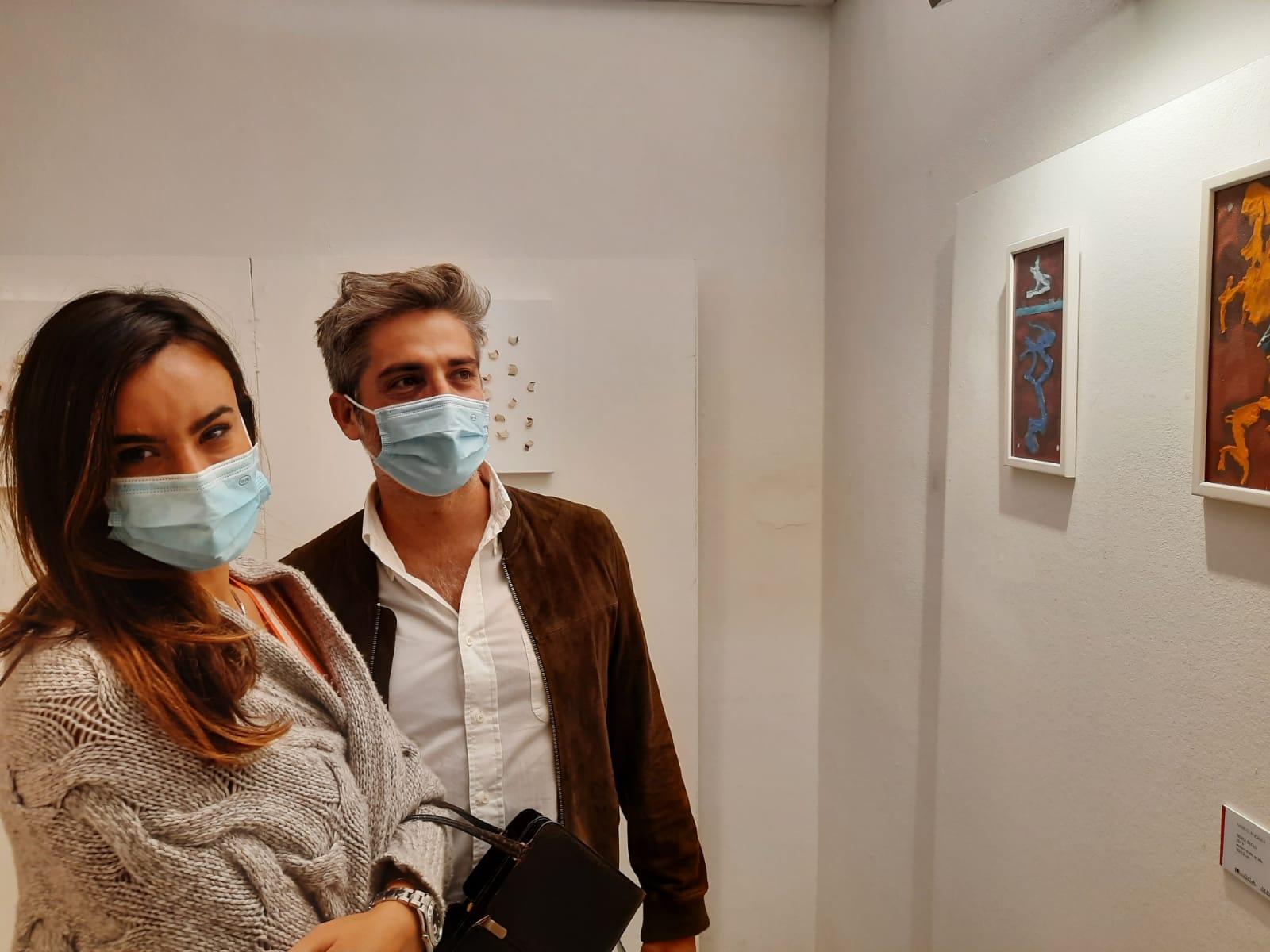 36. La tensione astratta dei segni, bi-personale Marco Angelini - Andrea Pinchi, a cura di Raffaella Salato