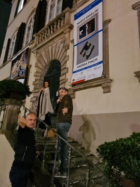 3. La tensione astratta dei segni, bi-personale Marco Angelini - Andrea Pinchi, a cura di Raffaella Salato