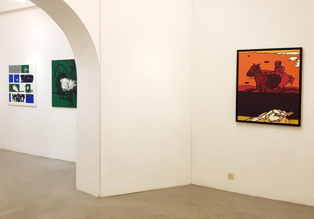 4 André Arte - Via Giulia 175 - Valerio Adami, Marco Angelini