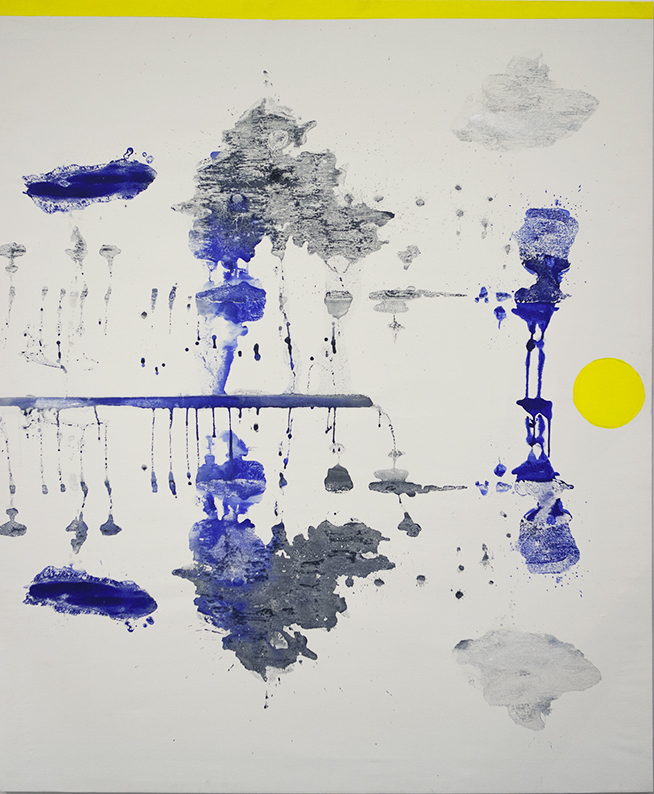 2017 - Untitled - cm 159x130 - mixed technique on canvas - ph C Farina