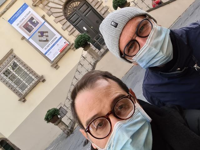 4. La tensione astratta dei segni, bi-personale Marco Angelini - Andrea Pinchi, a cura di Raffaella Salato