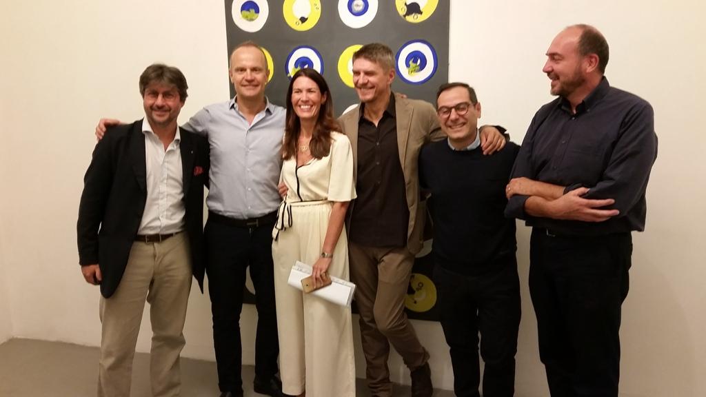 5 galleria Andrè opening Sept 21 2017