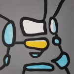 558 - 2017 METODO - cm 60x60 - mixed technique on canvas