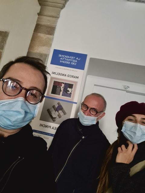 5. La tensione astratta dei segni, bi-personale Marco Angelini - Andrea Pinchi, a cura di Raffaella Salato