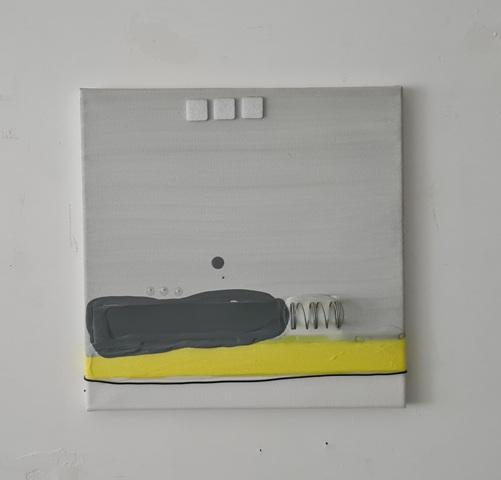 6 - 2016 - mixed technique on canvas - cm 30x30