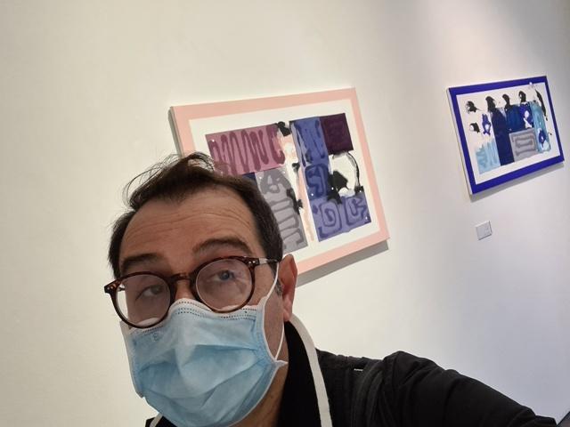 6. La tensione astratta dei segni, bi-personale Marco Angelini - Andrea Pinchi, a cura di Raffaella Salato