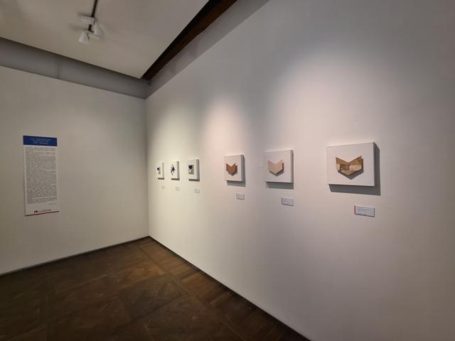 8. La tensione astratta dei segni, bi-personale Marco Angelini - Andrea Pinchi, a cura di Raffaella Salato