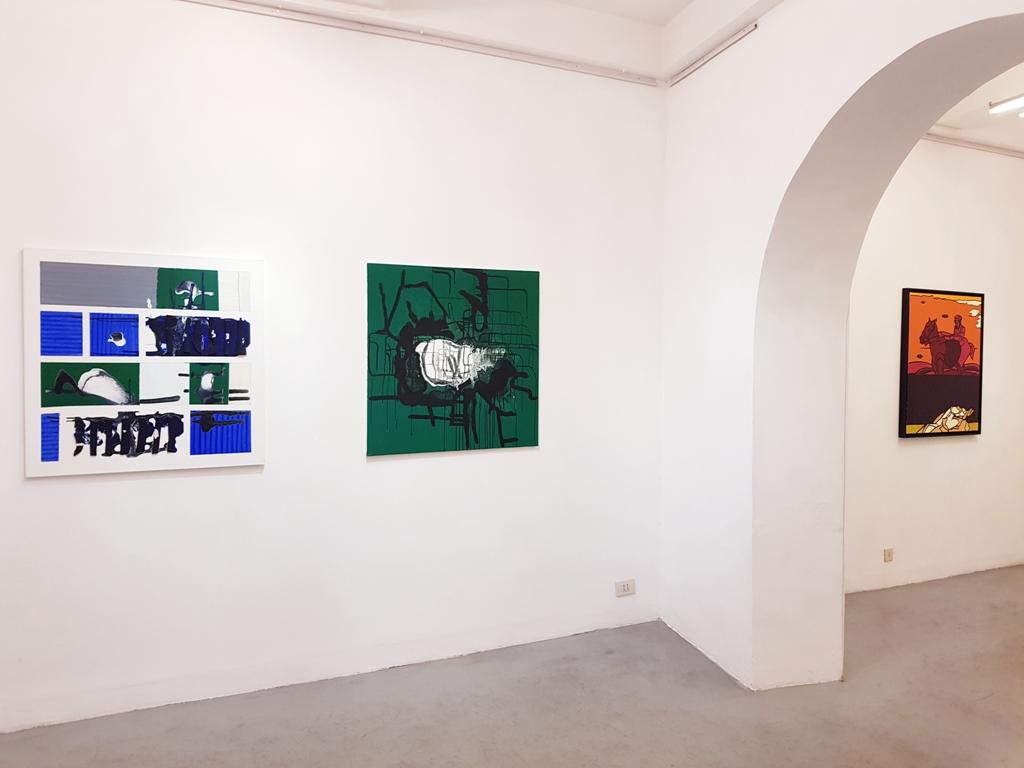 9 André Arte - Via Giulia 175 - Valerio Adami, Marco Angelini
