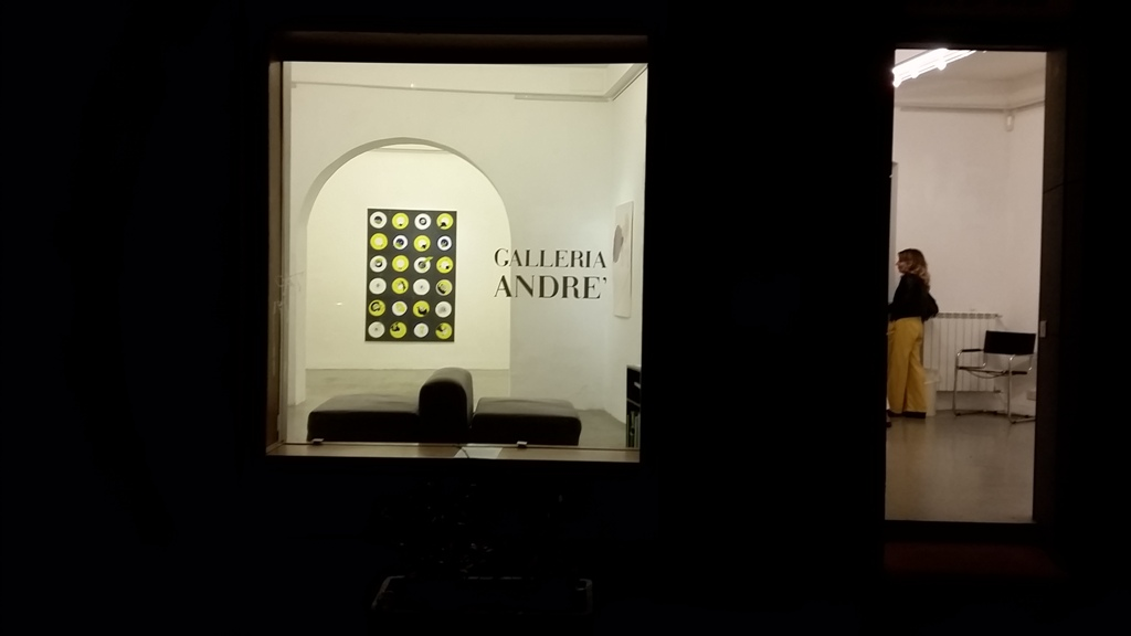 9 galleria Andrè opening Sept 21 2017