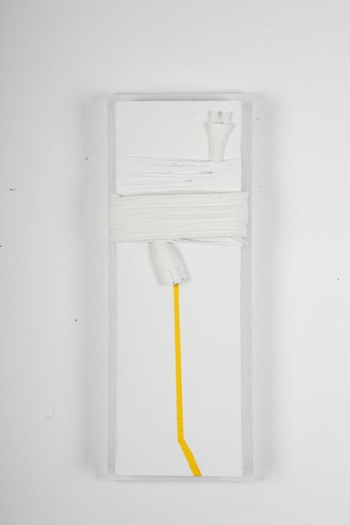 illimitato confine - 20X60 cm mixed technique on canvas
