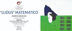 invito, Ludus matematico, Marco Angelini
