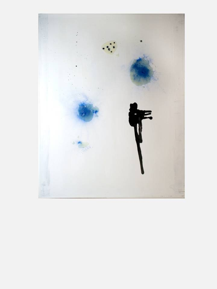 silenzio gravido - 100X 80 cm mixed media technique on canvas
